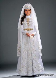 Наряд невесты в Осетии