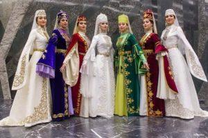 Женские осетинские костюмы