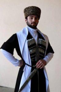 Мужской осетинский наряд