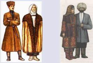 Старинные осетинские костюмы