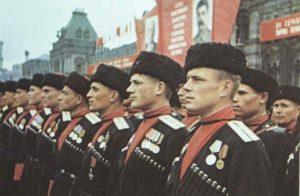 Папахи в армии в сталинское время
