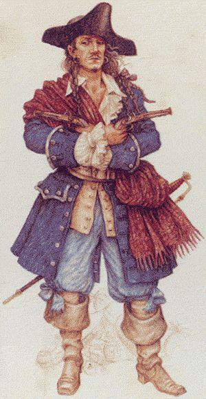 Пират со старинной книги