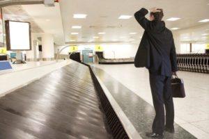 потерялся чемодан при перелете