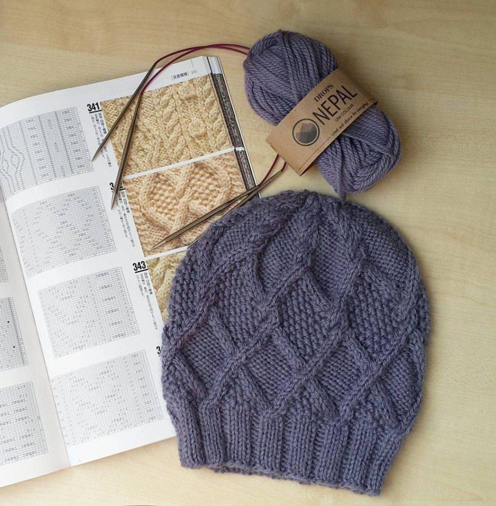 Пряжа для зимней шапки
