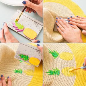 Раскраска шляпы
