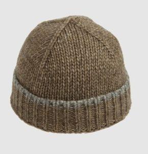 Как закрыть петли на шапке
