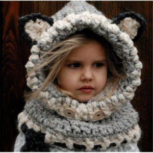 Шлем шапка для девочки