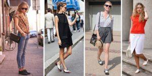 варианты нарядов для обуви броги