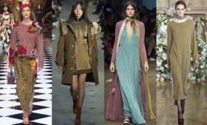 модные платья с люрексом