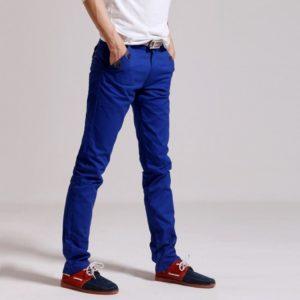 Сине-красные мужские туфли
