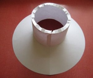 Как изготовить шляпу из бумаги