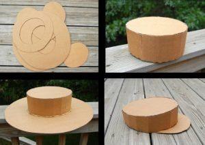 Шляпы из картона