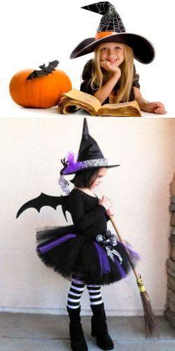 Браз ведьмочки для девочки
