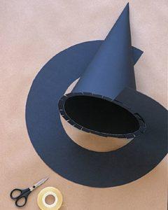Шляпа остроконечная из картона
