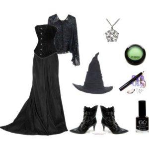 Наряд ведьмочки на Хэллоуин
