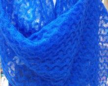 Синий палантин