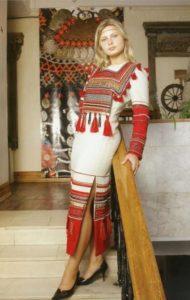 Современный костюм мордвин