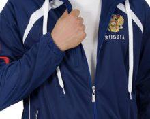 Спортивный мужской костюм синий