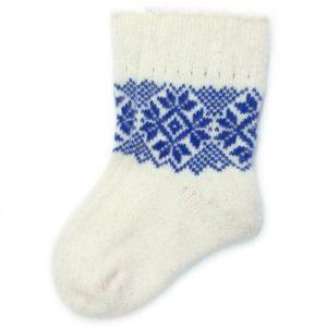 Маленькие носочки с орнаментом