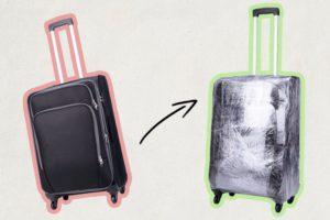 Пленка для чемодана