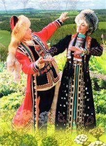башкиры национальный костюм фото