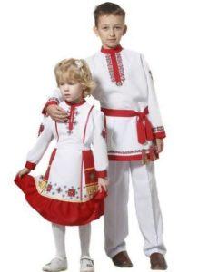 Детские белорусские костюмы