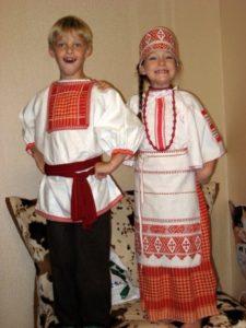 Детские красивые белорусские костюмы