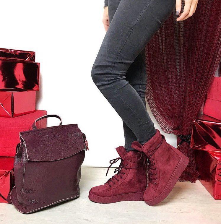Ботинки на платформа