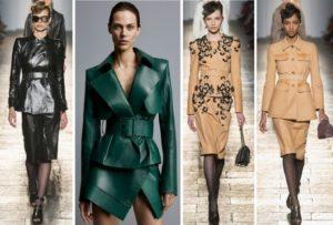 Модные показы разных цветов
