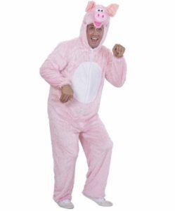 костюм свиньи своими руками на взрослого