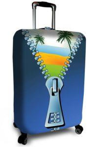 чемодан с молнией