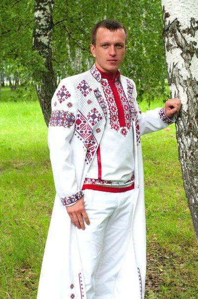 мужской чувашский костюм