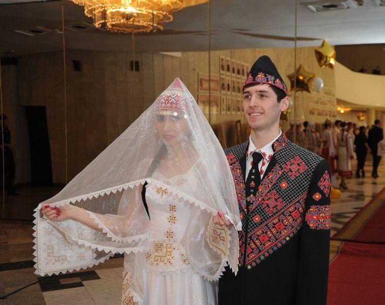 свадебные наряды чувашей