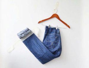 джинсы для сарафана