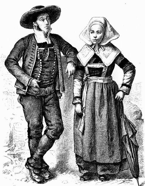 самый старинный костюм французов
