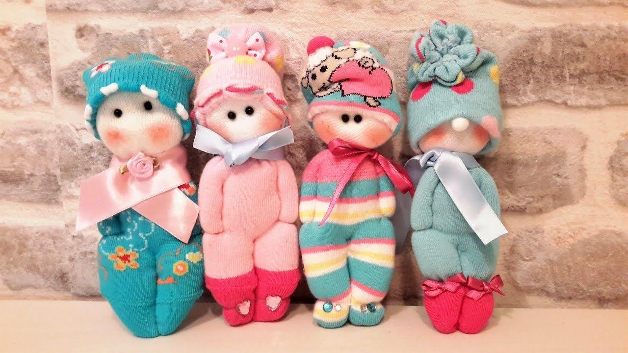 куклы из носков