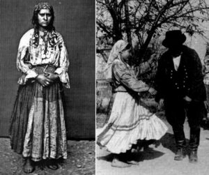 старинные костюмы цыган