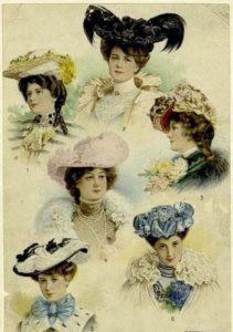 Старинные шляпы