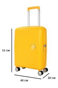 параметры чемодана