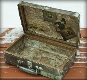 чемодан изнутри