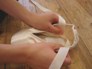 как пришивать ленты
