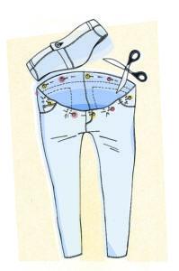как шить брюки для беременной