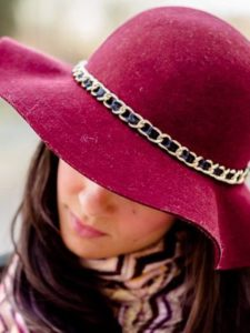 Цепочка на шляпе