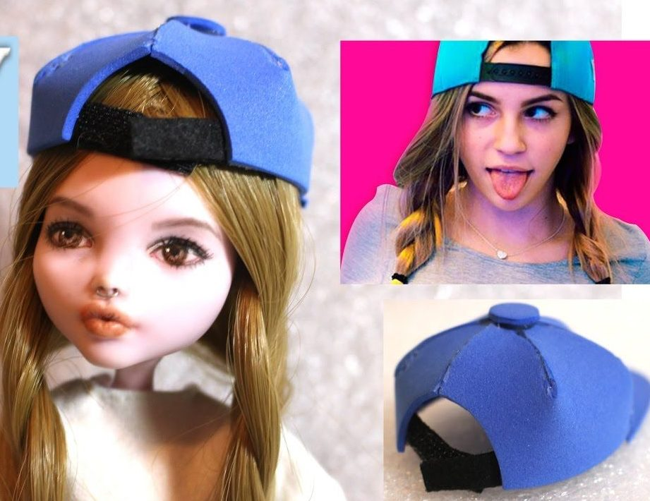 Как сделать кепку для куклы