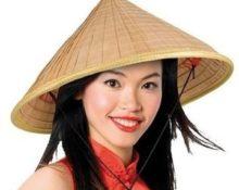 как называется китайская шляпа