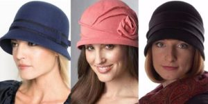 Клош 3 шляпки