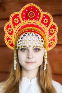 кокошник для женского костюма
