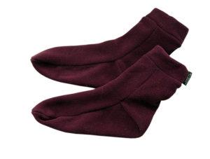 короткие носки из старого свитера своими руками