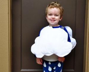 костюм тучки для мальчика