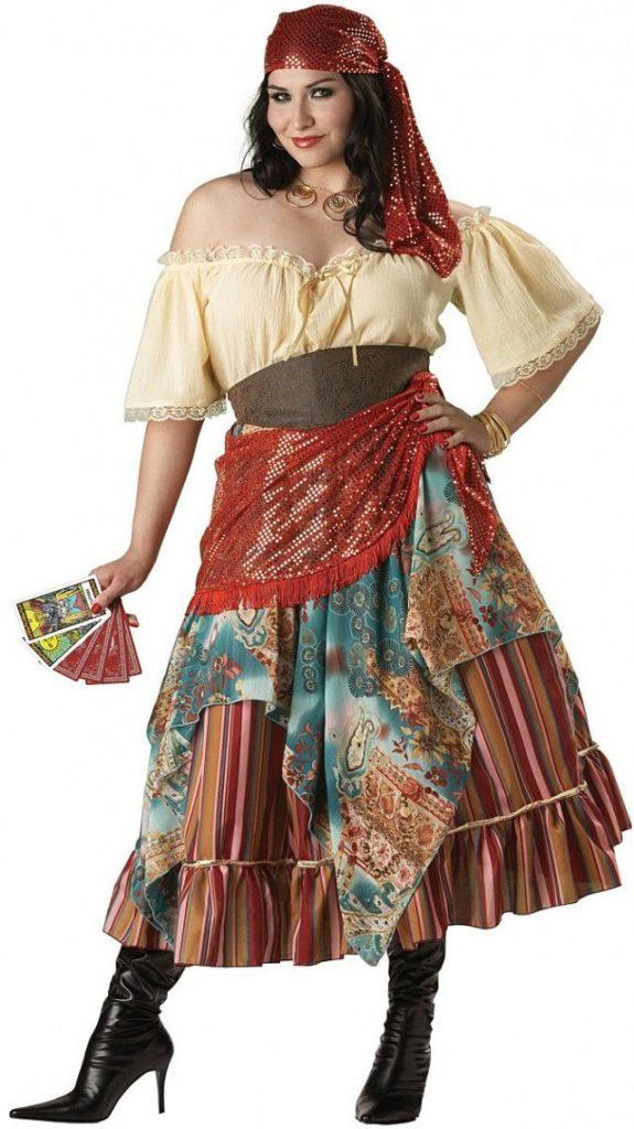 цыганский костюм на женщину